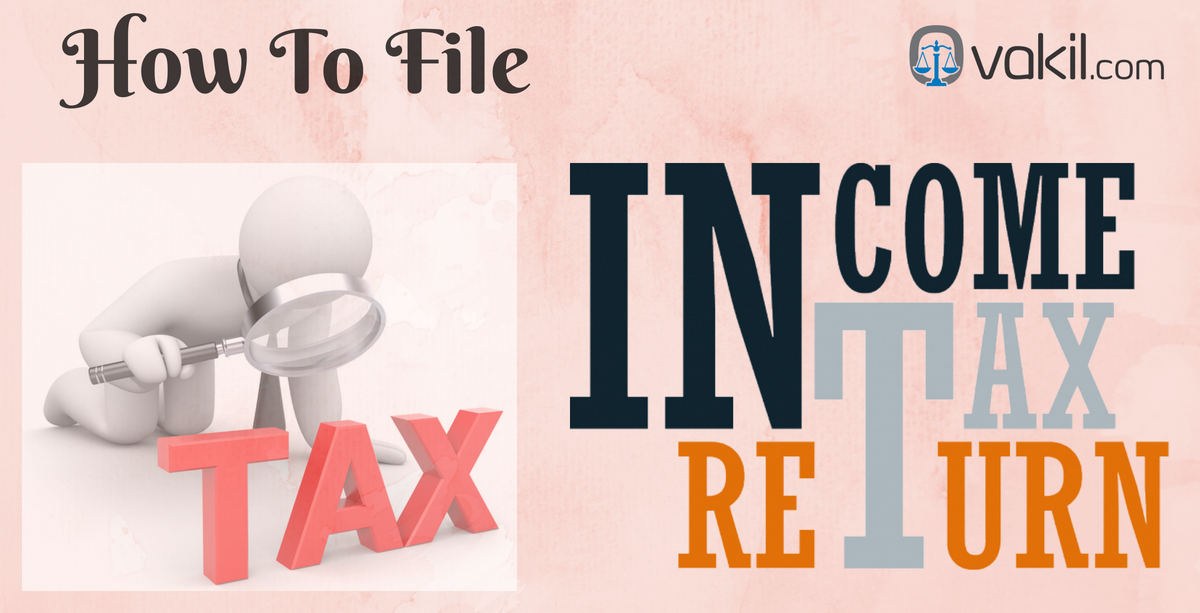 how to file income tax filing