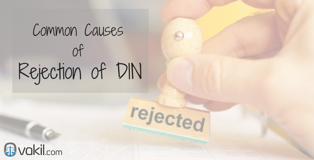 rejection of DIN
